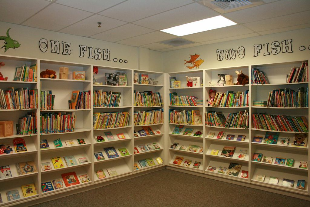 preschool library learning center for daycare